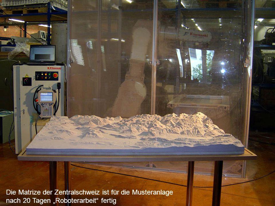 Die Matrize der Zentralschweiz ist für die Musteranlage