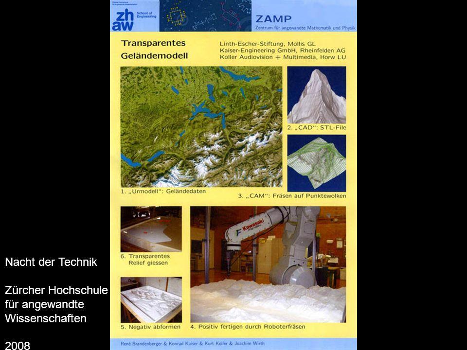 Nacht der Technik Zürcher Hochschule für angewandte Wissenschaften 2008