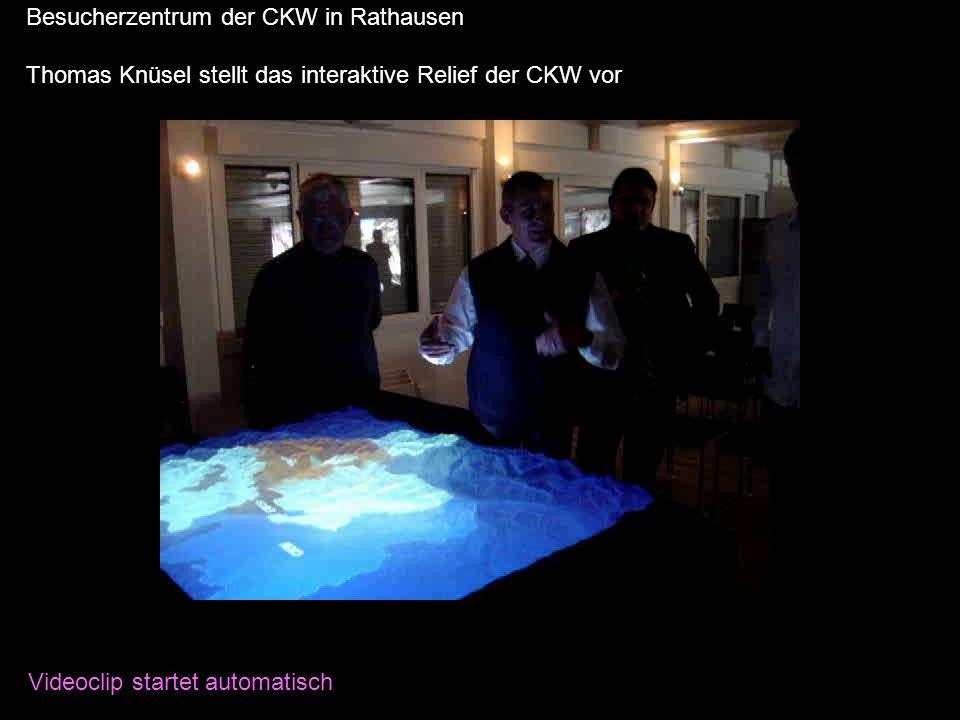Projekt Glarus2011 Besucherzentrum der CKW in Rathausen