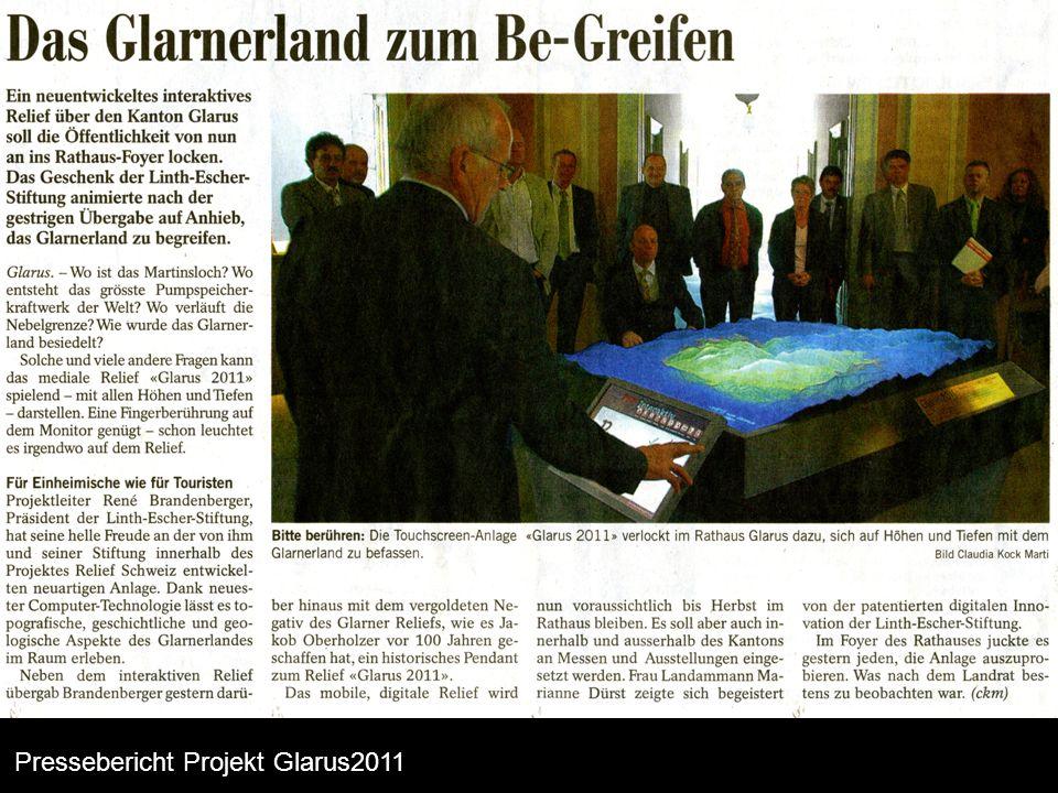 """Projekt ganze Schweiz """"Schweiz interaktiv"""