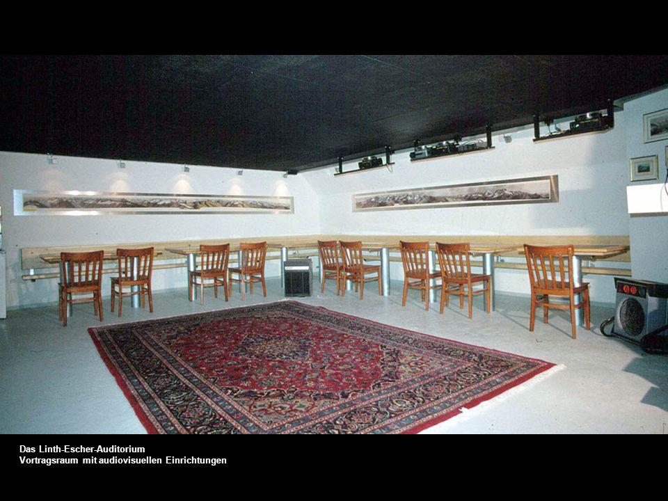 Das Linth-Escher-Auditorium