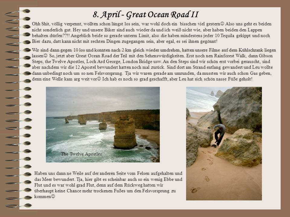 8. April - Great Ocean Road II