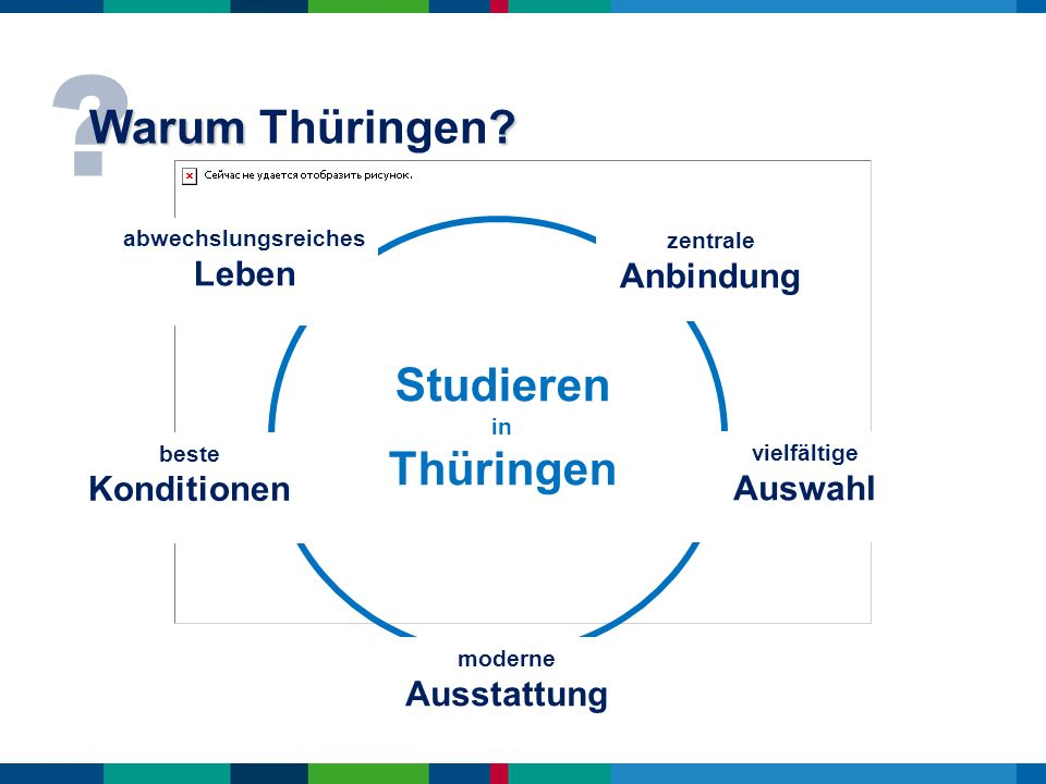 abwechslungsreiches Leben Studieren in Thüringen