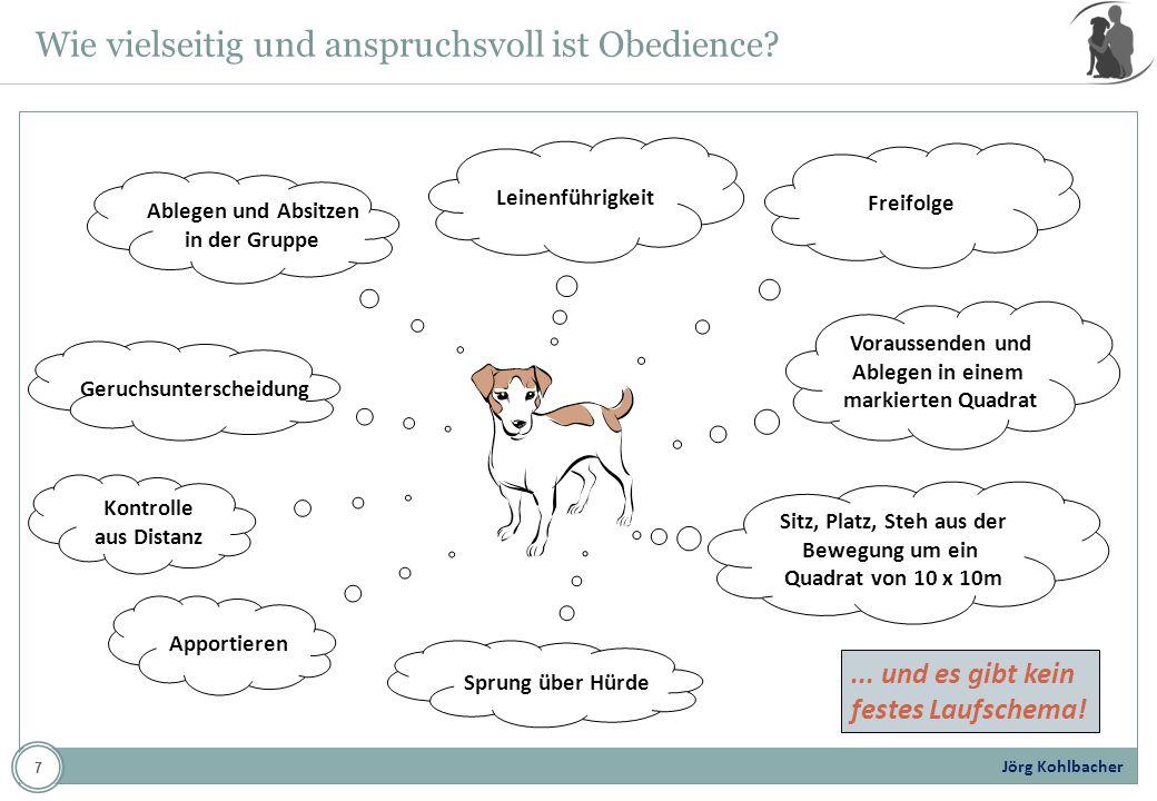 Wie vielseitig und anspruchsvoll ist Obedience