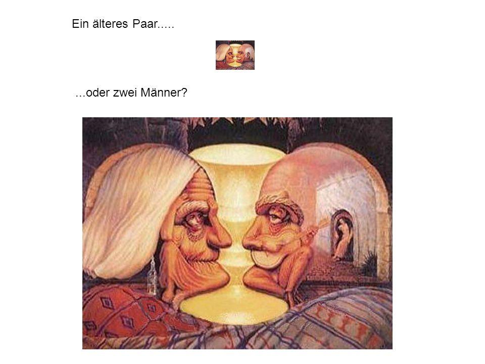 Ein älteres Paar..... ...oder zwei Männer