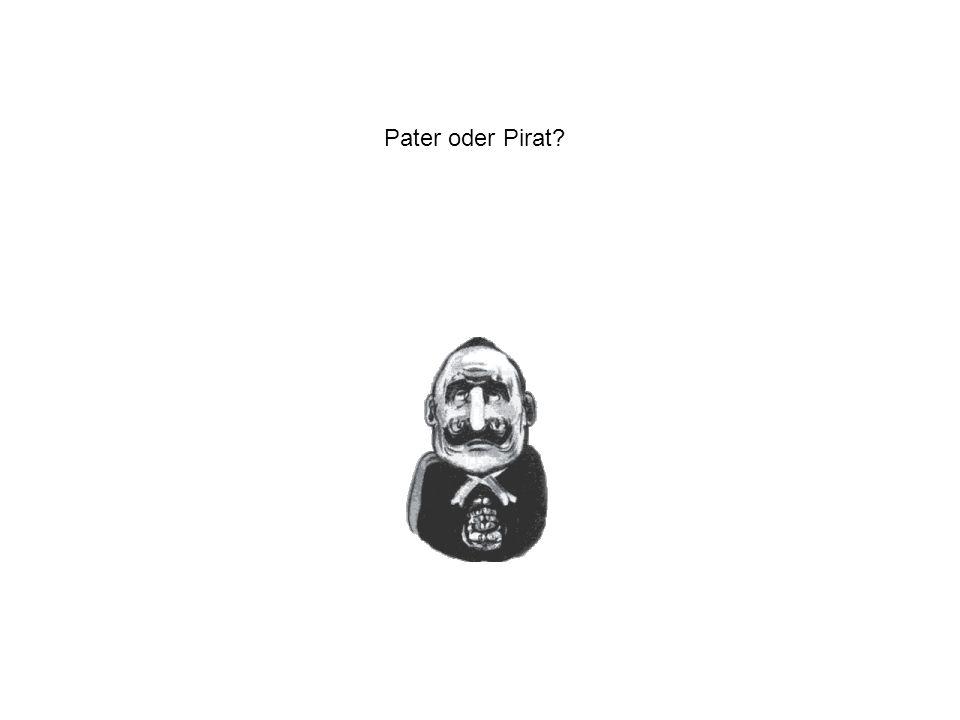 Pater oder Pirat