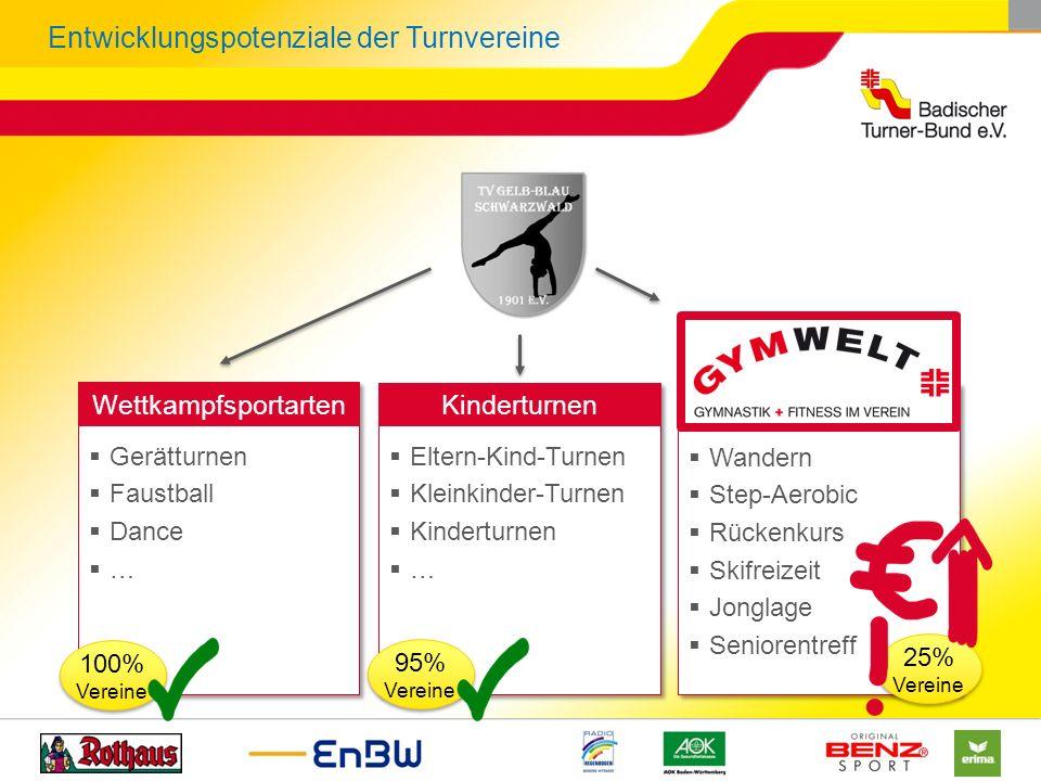 Entwicklungspotenziale der Turnvereine