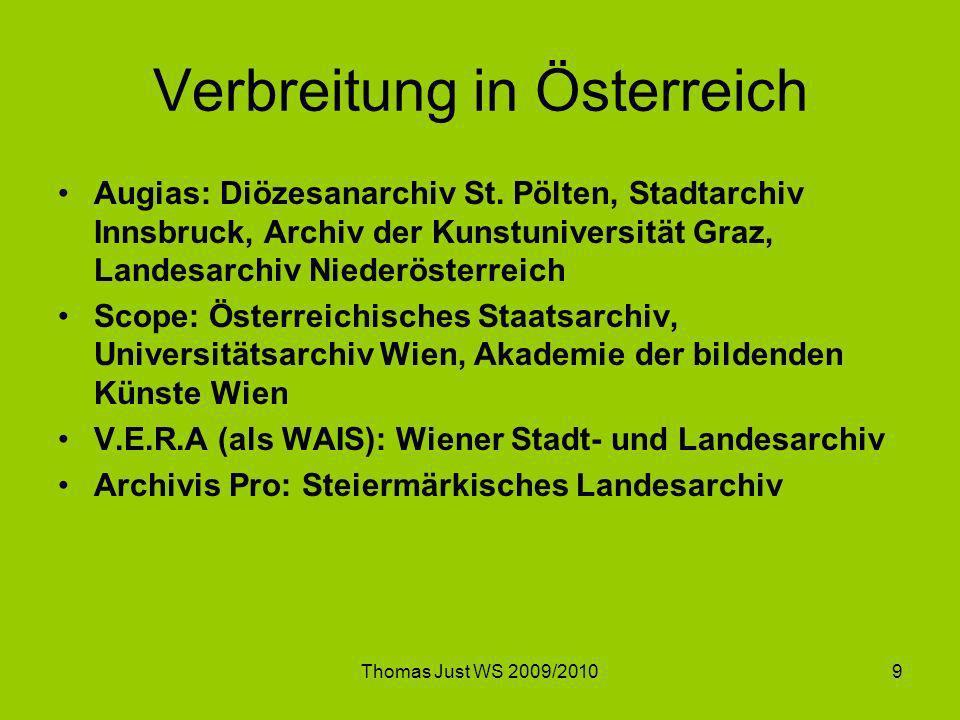 Verbreitung in Österreich