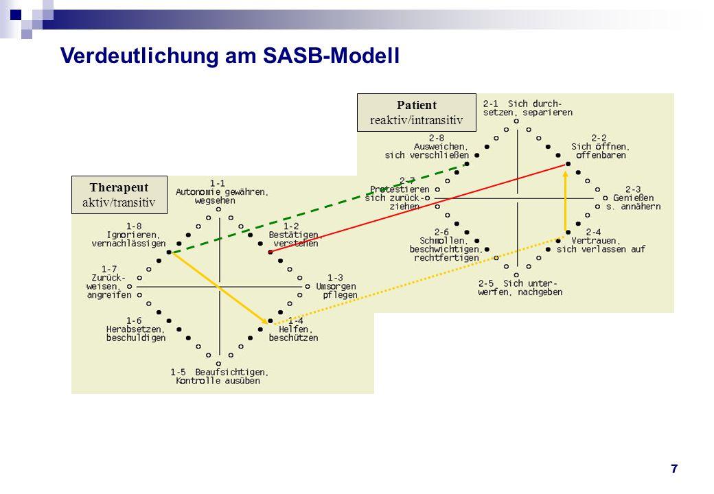 Verdeutlichung am SASB-Modell