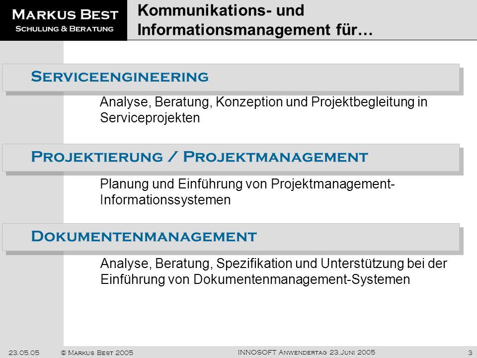 Kommunikations- und Informationsmanagement für…
