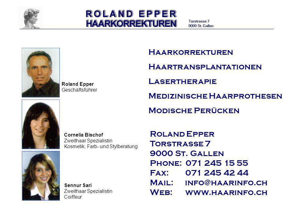 Haartransplantationen Lasertherapie Medizinische Haarprothesen
