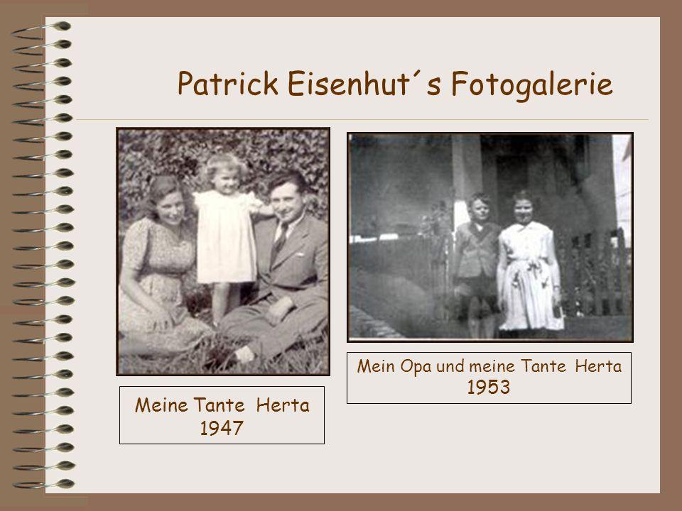 Mein Opa und meine Tante Herta 1953