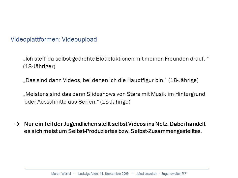 Videoplattformen: Videoupload