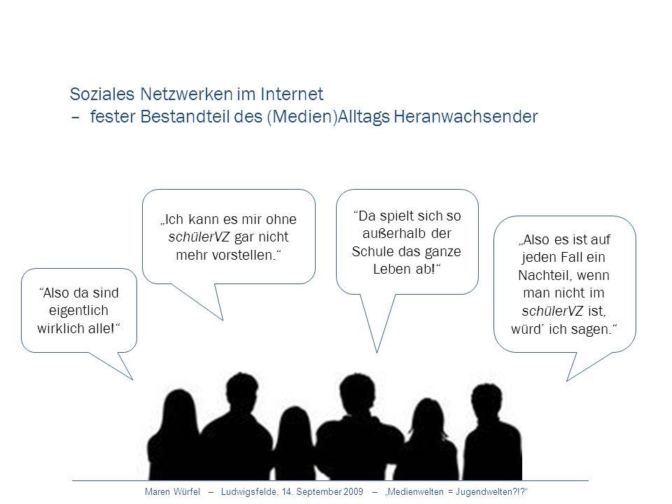 Soziales Netzwerken im Internet