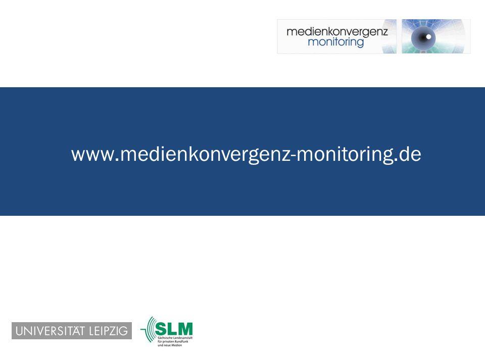 www.medienkonvergenz-monitoring.de Maren Würfel (Universität Leipzig) – Berlin, 3.