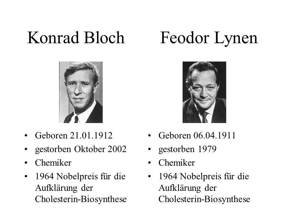 Konrad Bloch Feodor Lynen