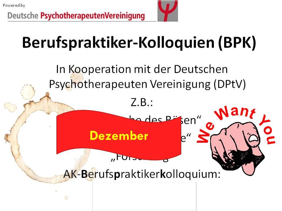 Berufspraktiker-Kolloquien (BPK)