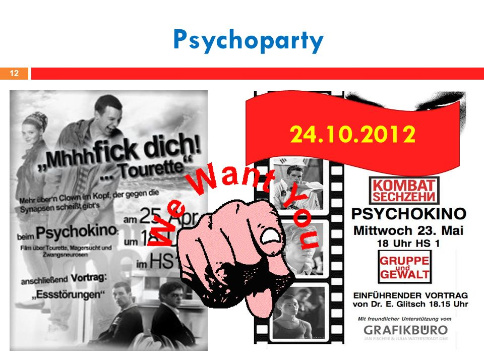 Psychoparty 24.10.2012