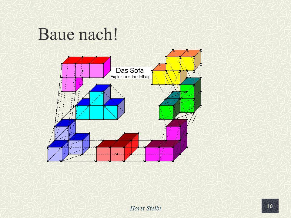 Baue nach! Horst Steibl