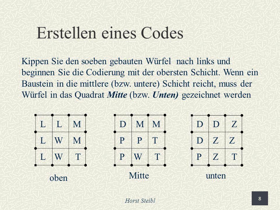 Erstellen eines Codes