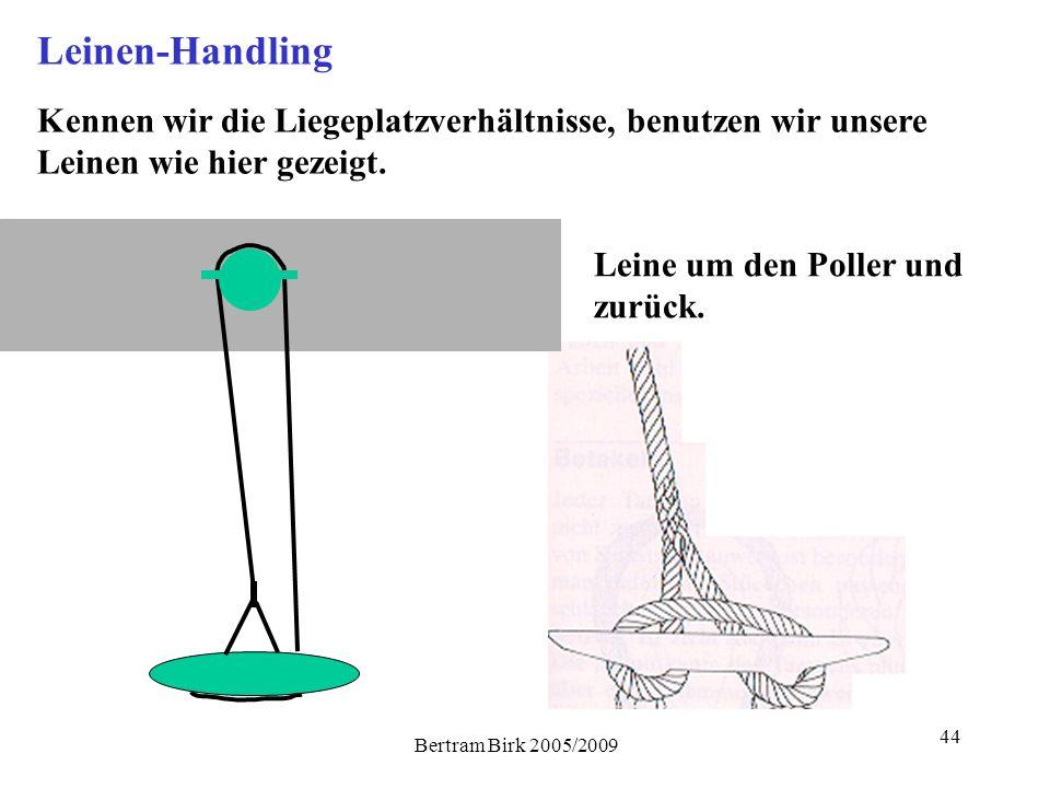 Leinen-Handling Kennen wir die Liegeplatzverhältnisse, benutzen wir unsere Leinen wie hier gezeigt.