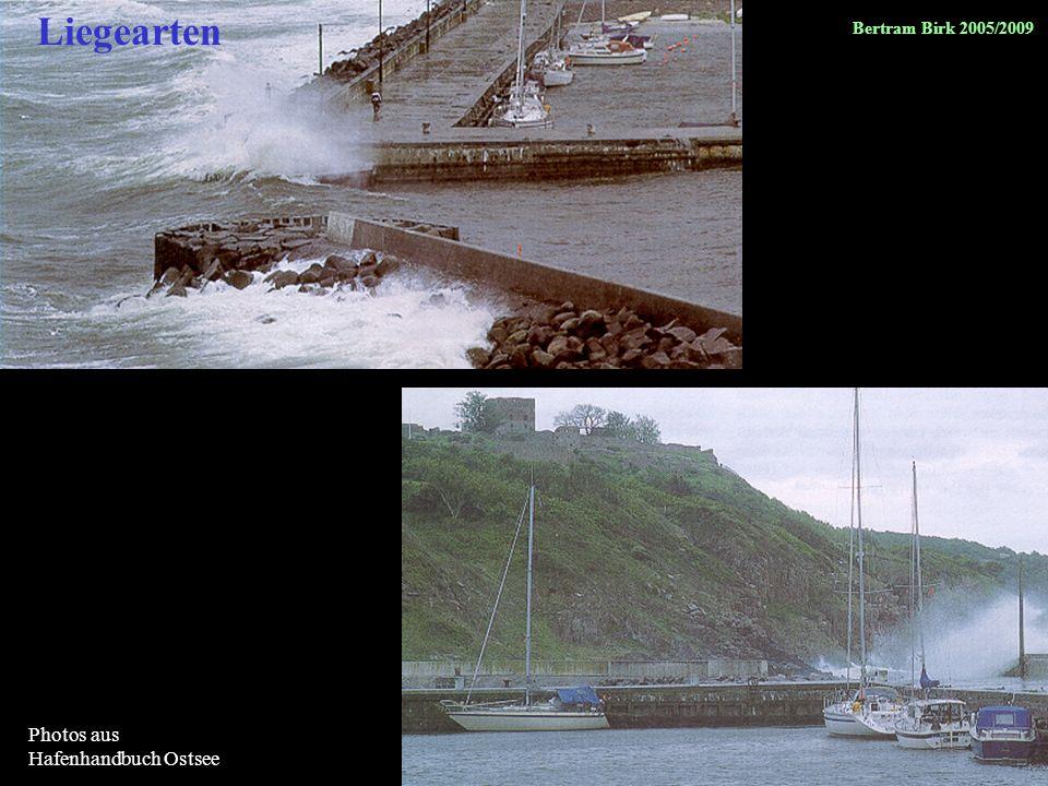 Liegearten Photos aus Hafenhandbuch Ostsee Bertram Birk 2005/2009