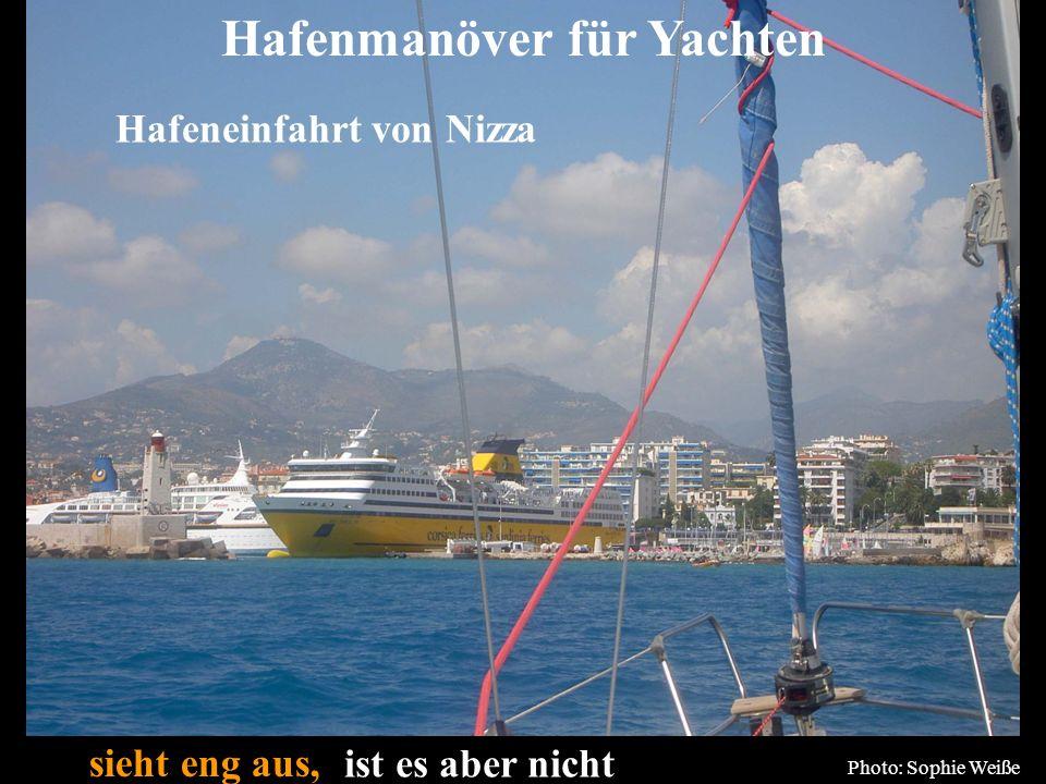 Hafenmanöver für Yachten