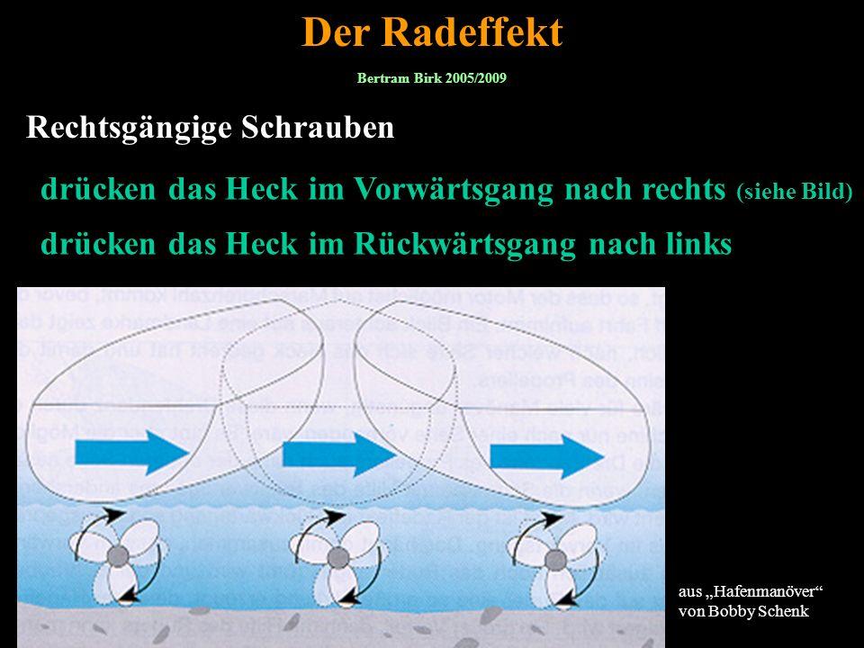 Der Radeffekt Rechtsgängige Schrauben