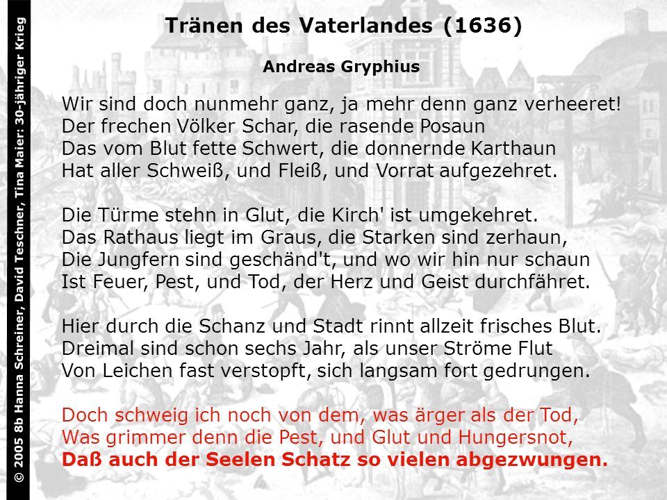 Tränen des Vaterlandes (1636)