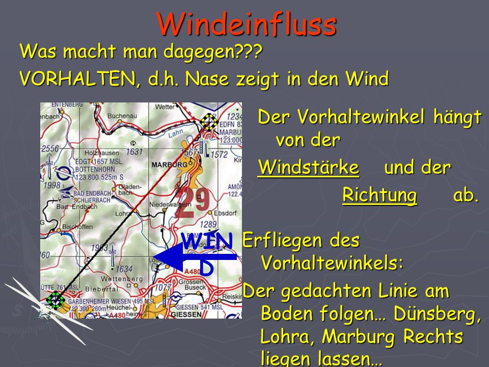 Windeinfluss WIND Was macht man dagegen