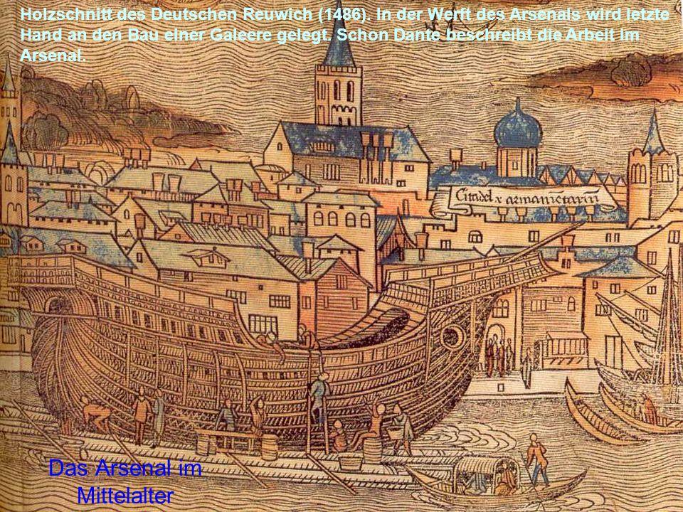 Das Arsenal im Mittelalter