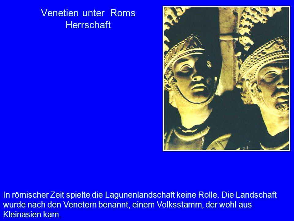 Venetien unter Roms Herrschaft