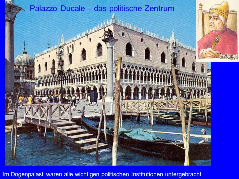 Palazzo Ducale – das politische Zentrum