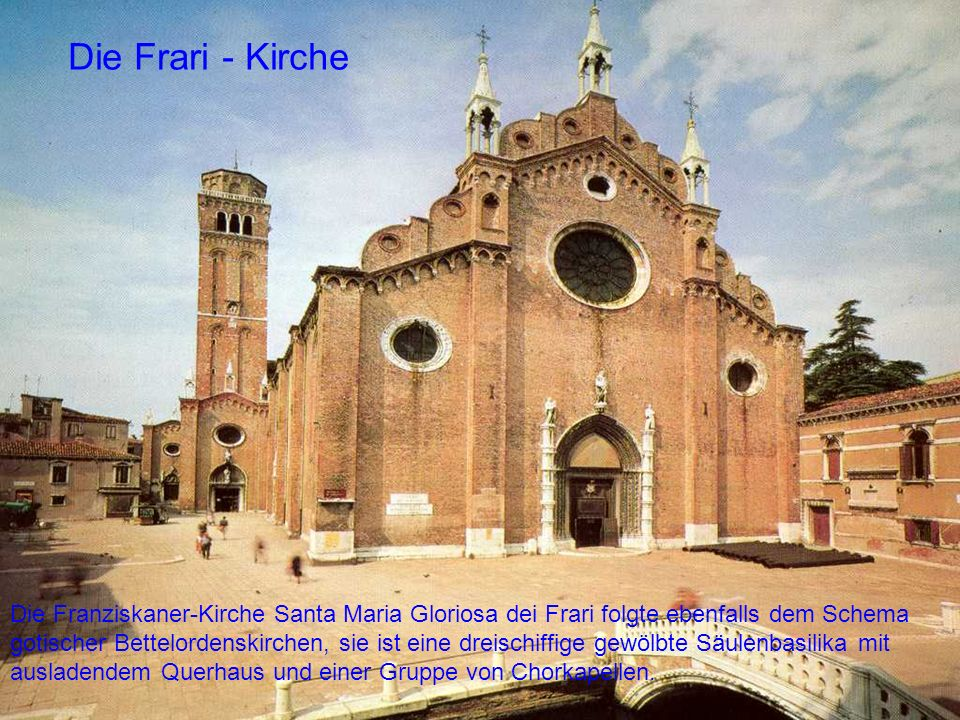Die Frari - Kirche