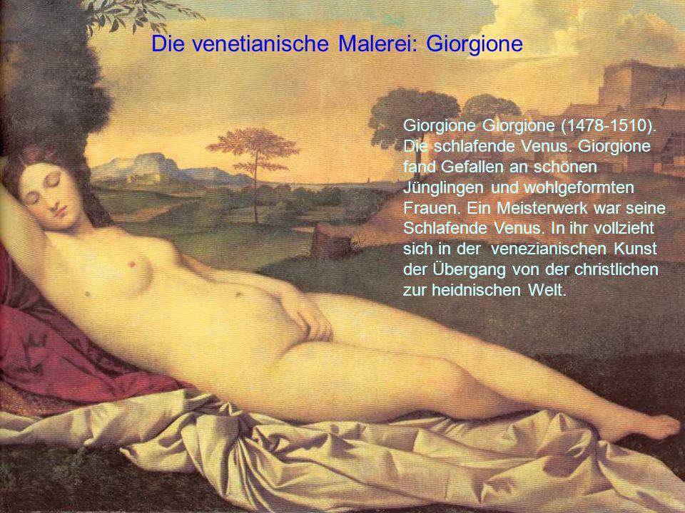 Die venetianische Malerei: Giorgione