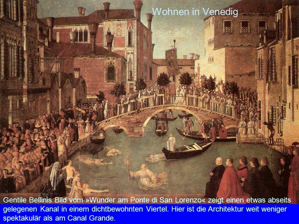 Wohnen in Venedig