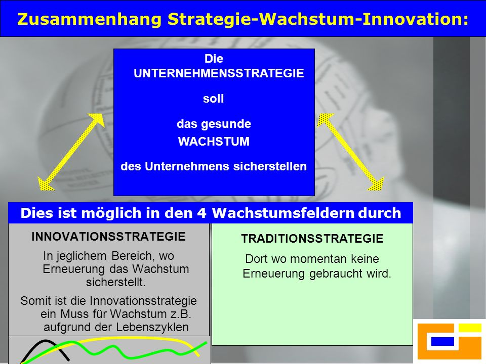Zusammenhang Strategie-Wachstum-Innovation: