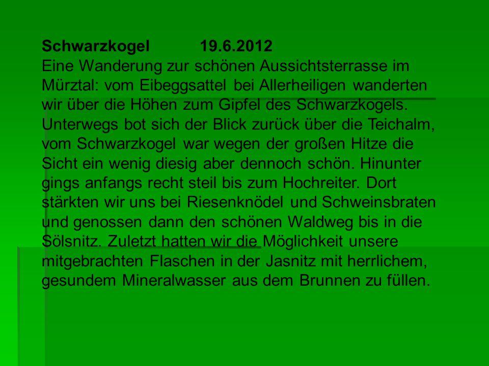 Schwarzkogel 19.6.2012