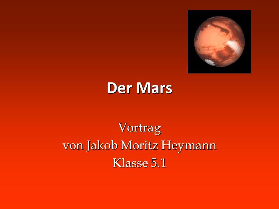 Vortrag von Jakob Moritz Heymann Klasse 5.1