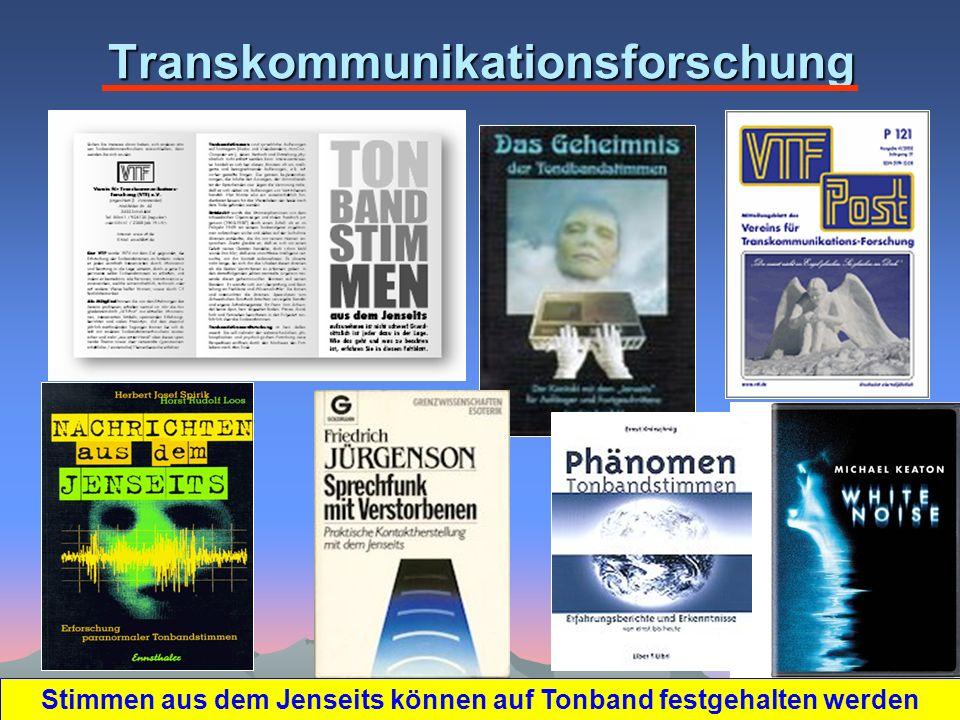 Transkommunikationsforschung