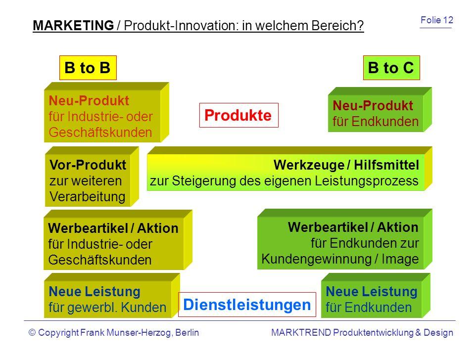 B to B B to C Produkte Dienstleistungen
