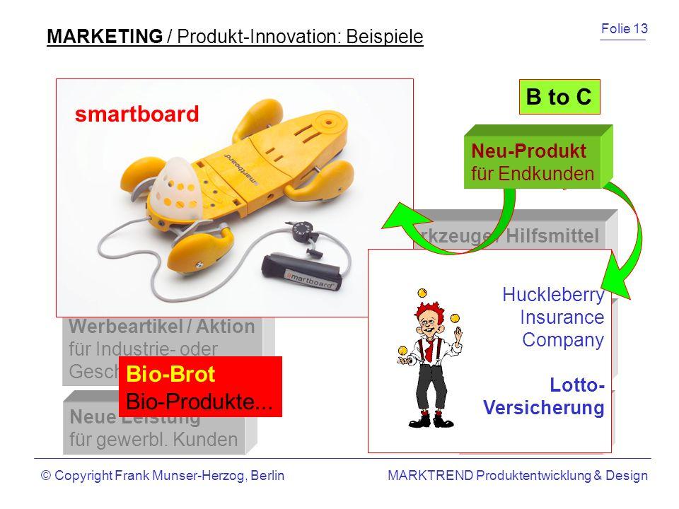 B to B B to C smartboard Bio-Brot Bio-Produkte...