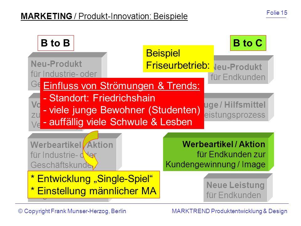Einfluss von Strömungen & Trends: - Standort: Friedrichshain