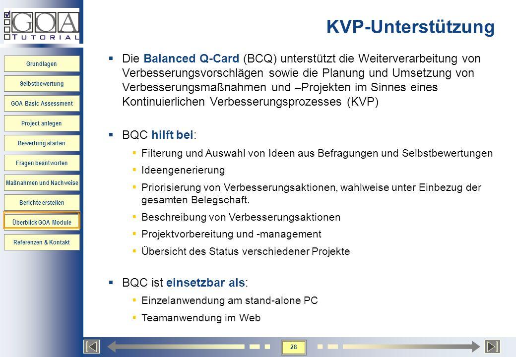 KVP-Unterstützung