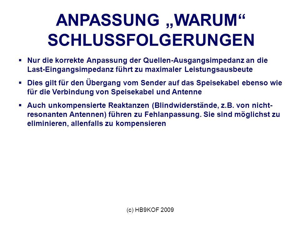 """ANPASSUNG """"WARUM SCHLUSSFOLGERUNGEN"""