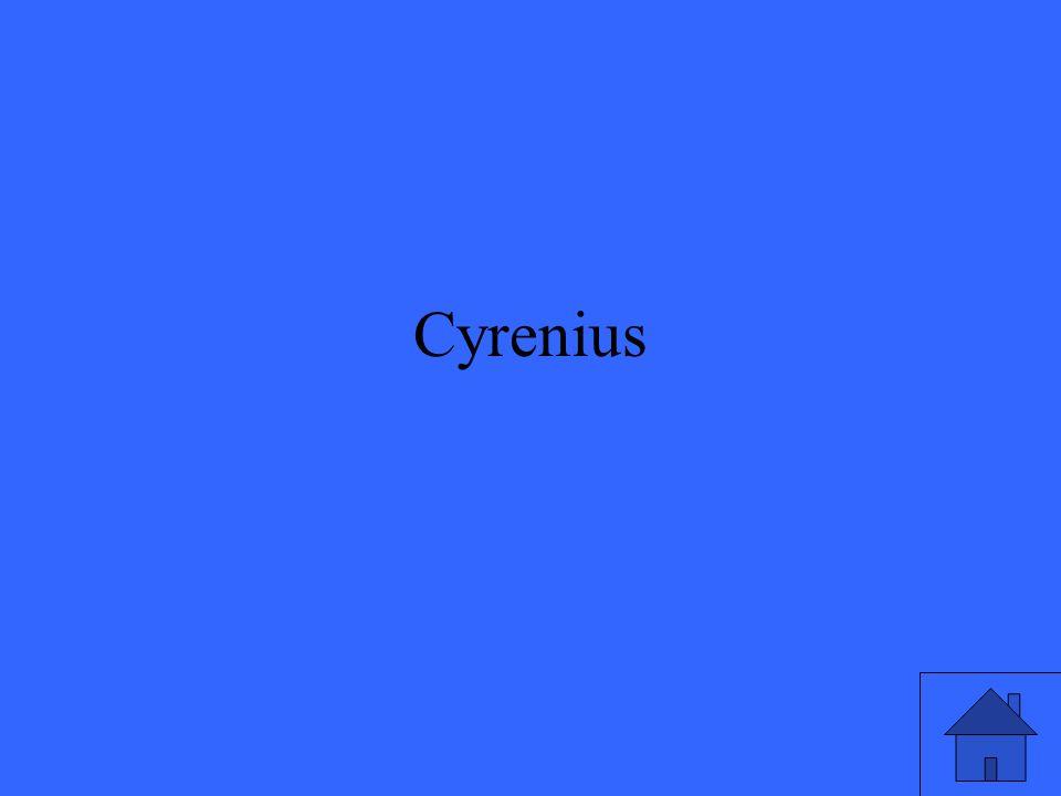 Cyrenius