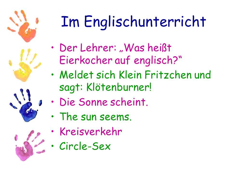 Im Englischunterricht