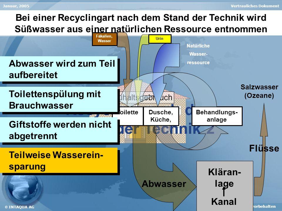 Recycling nach dem Stand der Technik 2