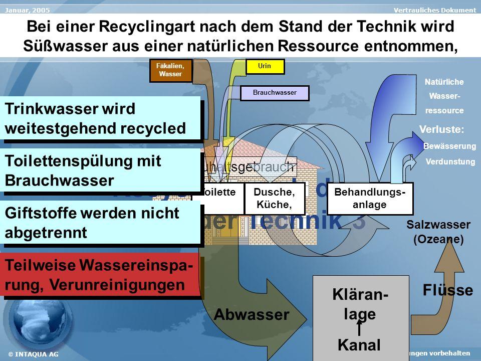 Recycling nach dem Stand der Technik 3