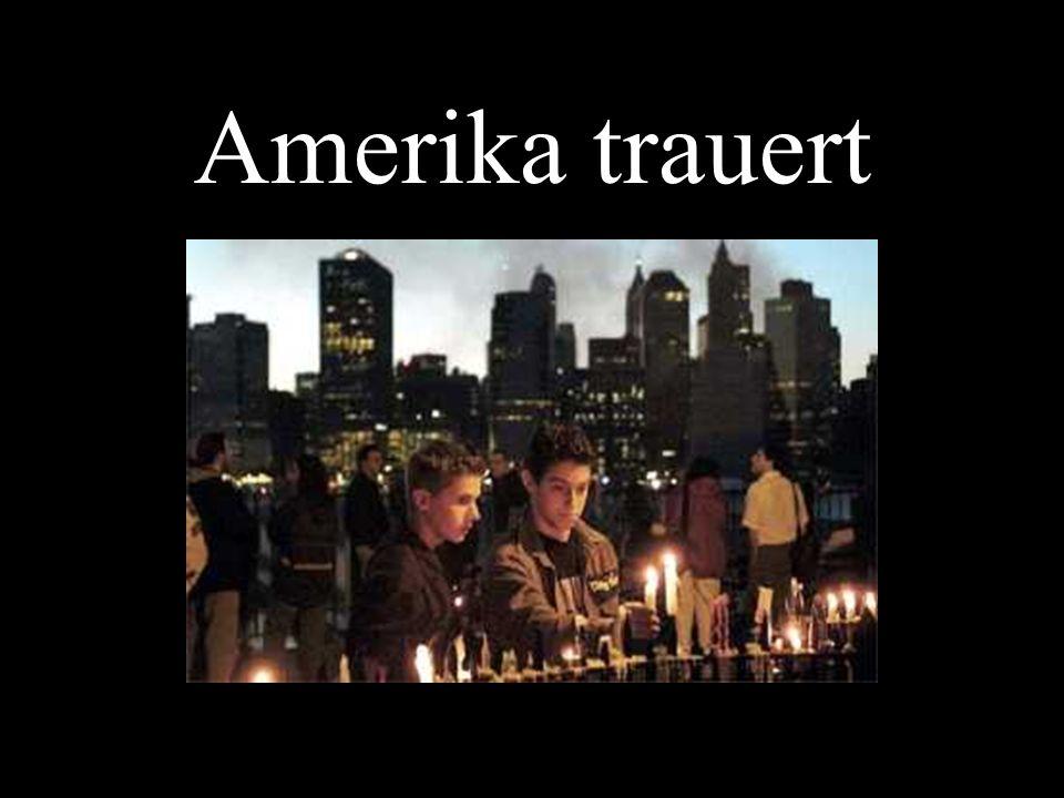 Amerika trauert